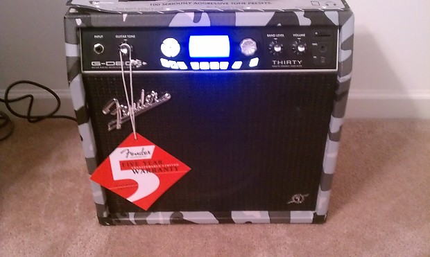 fender g dec 3 thirty 30w 1x10 combo guitar amp metal edition reverb. Black Bedroom Furniture Sets. Home Design Ideas