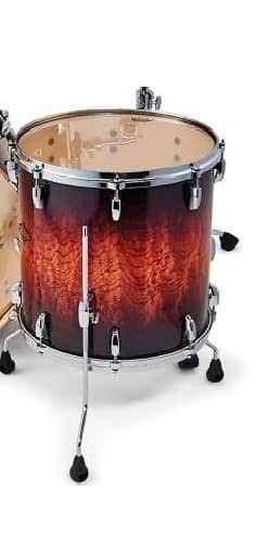 Pearl bcx masters lava bubinga 14x14 floor tom drum new for 14x12 floor tom