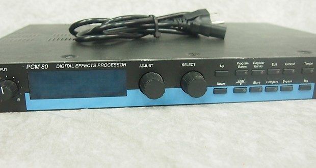 lexicon pcm 80 pcm80 digital effects processor w manual reverb. Black Bedroom Furniture Sets. Home Design Ideas