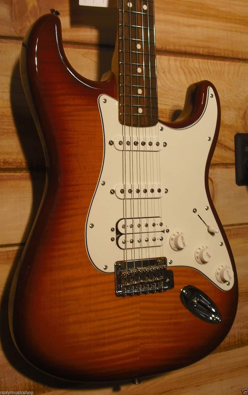 fender deluxe stratocaster plus top hss with ios tobacco reverb. Black Bedroom Furniture Sets. Home Design Ideas