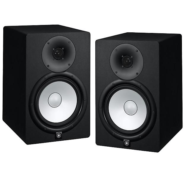 Yamaha hs8 powered bi amplified studio monitor pair reverb for Yamaha hs8 studio monitor speakers