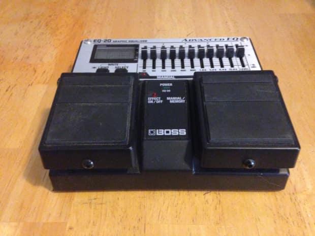 boss eq 20 band programmable digital equalizer guitar pedal reverb. Black Bedroom Furniture Sets. Home Design Ideas