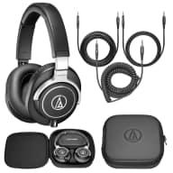 Audio-Technica ATH-M70x Pro Monitoring & DJ Headphones - NIB with case, accessories