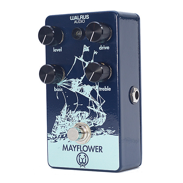 walrus audio mayflower mid range overdrive with tone shaping reverb. Black Bedroom Furniture Sets. Home Design Ideas