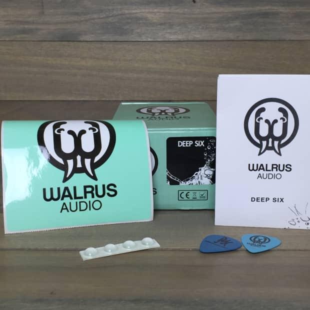 walrus audio deep six custom reverb. Black Bedroom Furniture Sets. Home Design Ideas