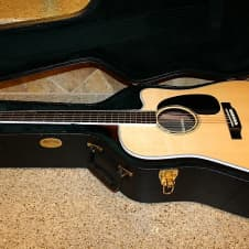 Martin DC-Aura GT Acoustic Electric Guitar with Martin hardshell case image