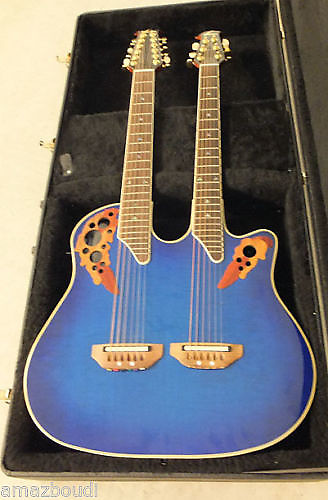 Ovation Elite Double Neck CSE225-RRB – Thomann United States