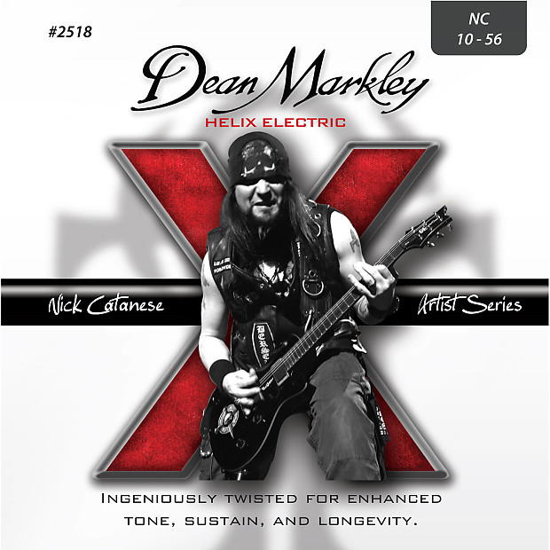 Dean markley 2518 helix hd electric guitar strings 10 56 for Markley motors service coupons
