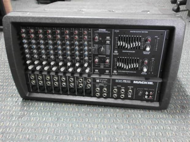 mackie 1400i power amp manual
