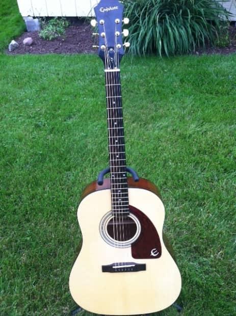 Tj Auto Sales >> Epiphone AJ 10 TJ NA Acoustic Guitar (6 String, Right | Reverb