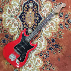 Hagstrom III Electric Guitar Red - Players Special image
