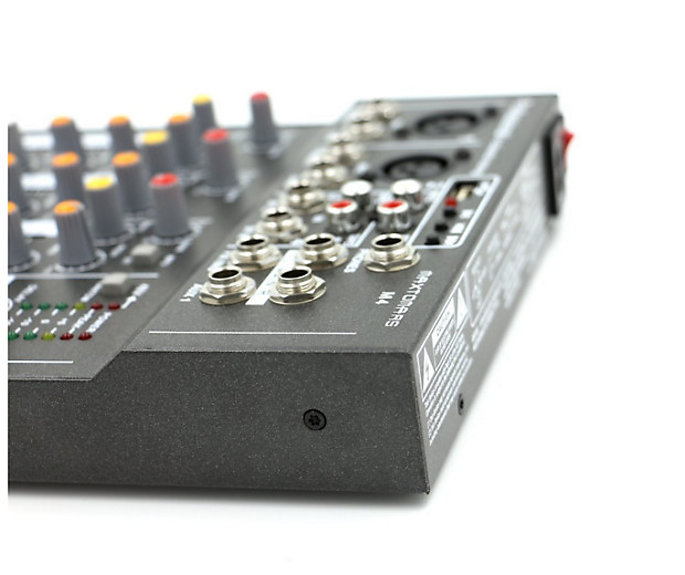 Maxtomars m4 4 channel mixer with usb input mic line reverb - Professional mixing console ...