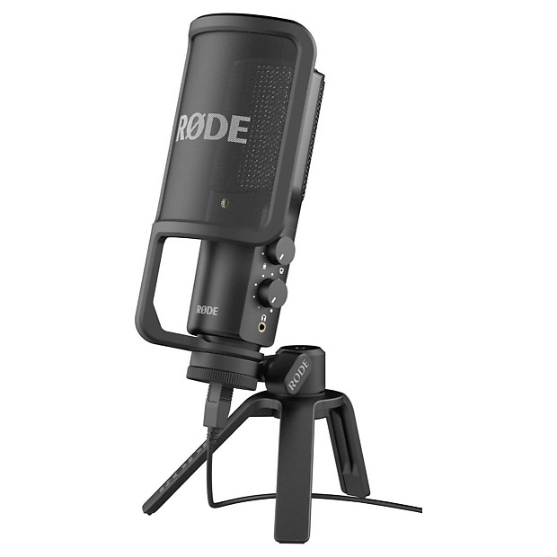rode nt usb condenser microphone with accessories reverb. Black Bedroom Furniture Sets. Home Design Ideas