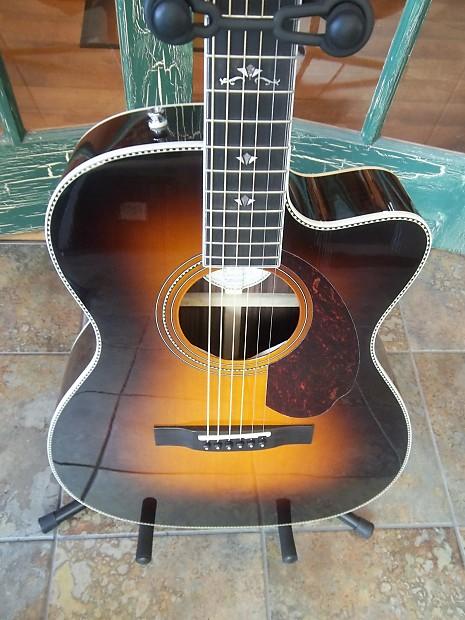 fender paramount series pm 3 acoustic electric guitar vintage reverb. Black Bedroom Furniture Sets. Home Design Ideas