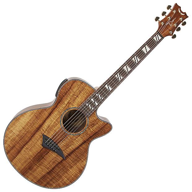 dean pe koa performer acoustic electric guitar bundle reverb. Black Bedroom Furniture Sets. Home Design Ideas