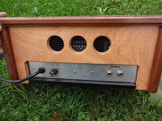 d lab dual 6005w tube boutique opti plex guitar amp head wood reverb. Black Bedroom Furniture Sets. Home Design Ideas
