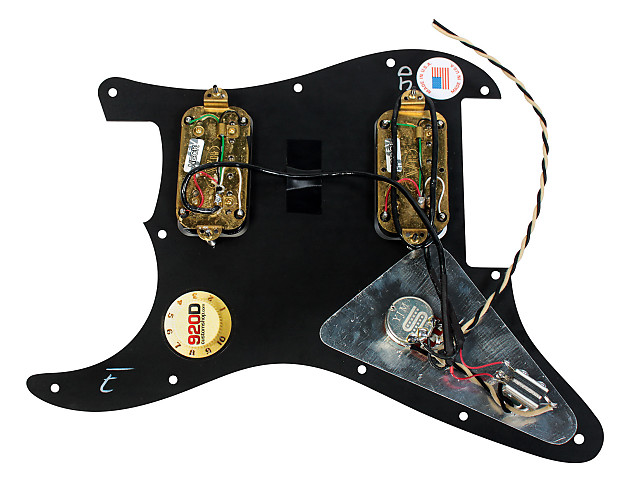 920d Custom Shop Loaded Pickguard Charvel So
