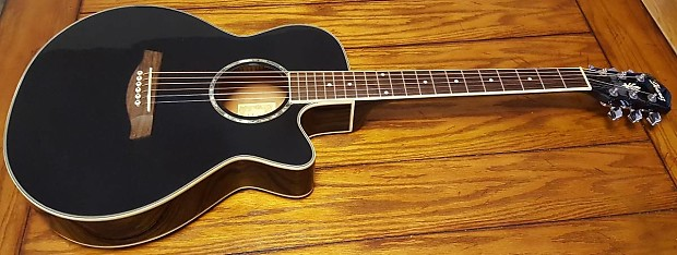 ibanez acoustic electric cutaway guitar aeg10e with built in reverb. Black Bedroom Furniture Sets. Home Design Ideas