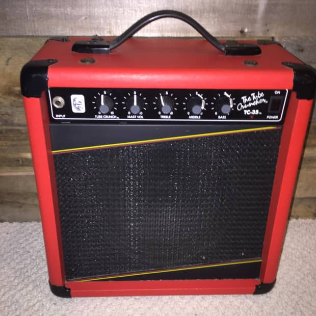 gorilla tc 35 1987 red ultra rare red practice bedroom amp 50 reverb. Black Bedroom Furniture Sets. Home Design Ideas