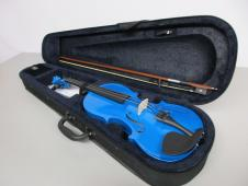 ADM VLP-13 4/4 Violin, Blue image