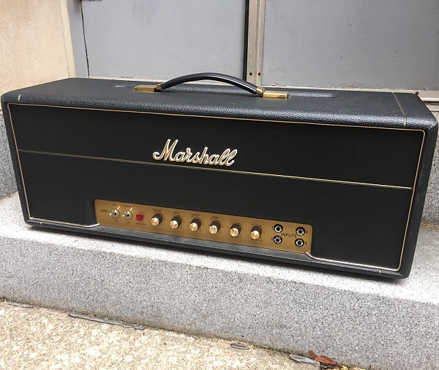 marshall 1959hw handwired plexi 100 watt tube guitar amp head reverb. Black Bedroom Furniture Sets. Home Design Ideas