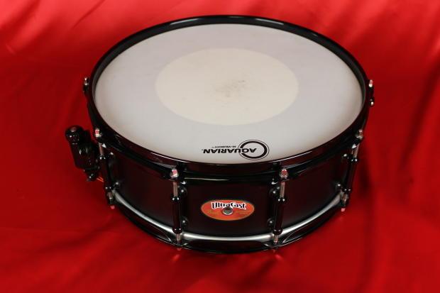 pearl ultracast snare drum black reverb. Black Bedroom Furniture Sets. Home Design Ideas