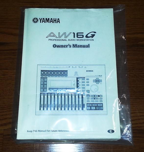 yamaha aw16g professional audio workstation