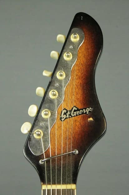 St George Auto Sales >> St. George Guitar Made in Japan Lots of Chrome ! | Reverb