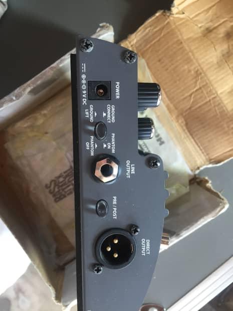 hartke vxl bass attack preamp pedal reverb. Black Bedroom Furniture Sets. Home Design Ideas