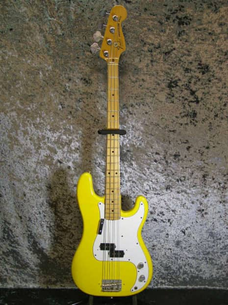 Precision Auto Sales >> Fender Precision Bass 1981 International Color Monaco Yellow | Reverb