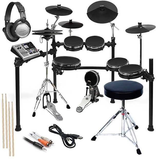 alesis dm10 studio mesh kit complete drum bundle reverb. Black Bedroom Furniture Sets. Home Design Ideas