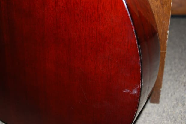 guild f 20 nt vintage acoustic 1966 parlor size guitar made reverb. Black Bedroom Furniture Sets. Home Design Ideas