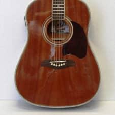Oscar Schmidt OG21TM Dreadnought Acoustic Guitar, Onboard Built in Tuner, Mahogany image