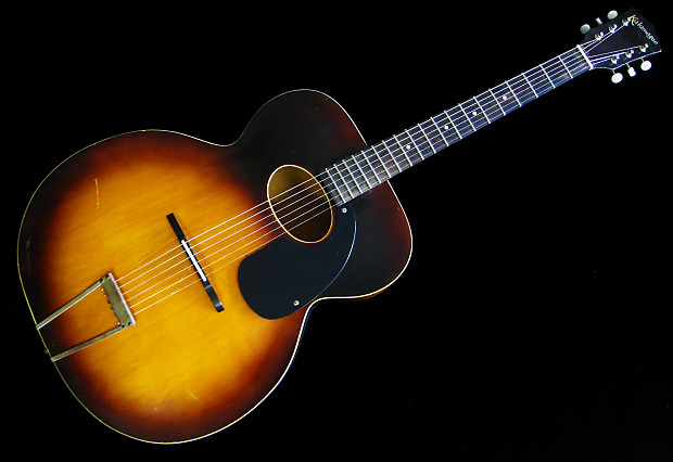 kalamazoo vintage acoustic guitar 1940s tobacco sunburst reverb. Black Bedroom Furniture Sets. Home Design Ideas