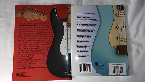 fender guitar books stratocaster telecaster 2 books reverb. Black Bedroom Furniture Sets. Home Design Ideas