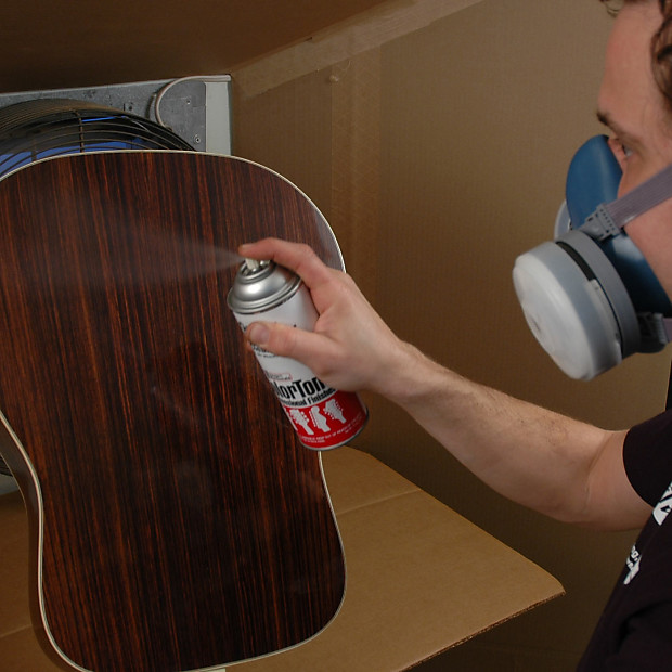 how to clean satin finish guitar