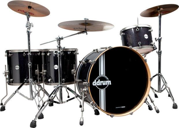 Ddrum Reflex Bombardier Galaxy Sparkle Drum Set Reflex