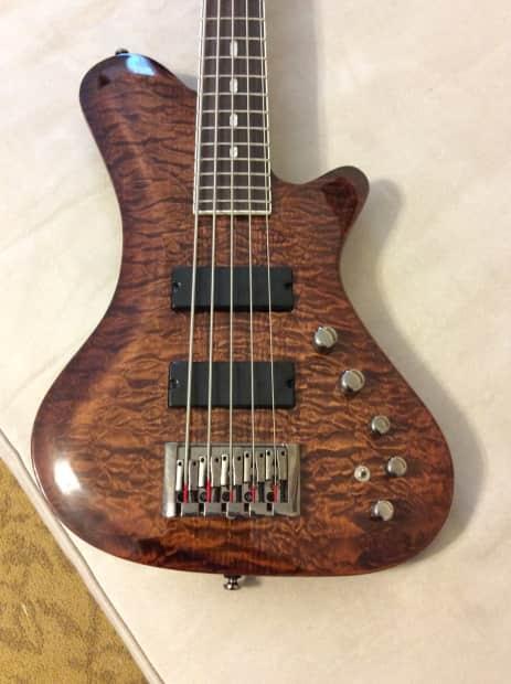 Michaels Auto Sales >> KRAKEN 5-String Bass (Rare) Amber Quilt | Reverb