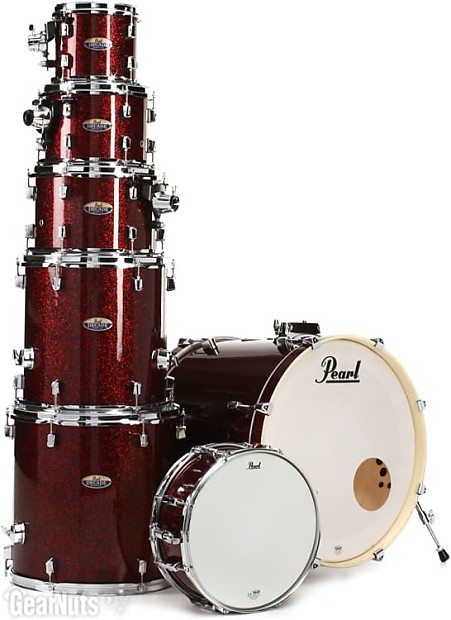 pearl decade maple shell pack 7pc crimson galaxy flake reverb. Black Bedroom Furniture Sets. Home Design Ideas