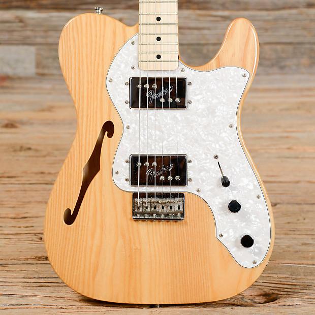Fender Thinline Telecaster 72 : fender classic series 39 72 telecaster thinline natural reverb ~ Vivirlamusica.com Haus und Dekorationen