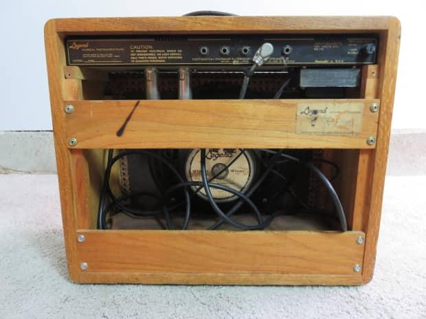 vintage legend model g1230 guitar amplifier tube amp 1x12 a30 reverb. Black Bedroom Furniture Sets. Home Design Ideas