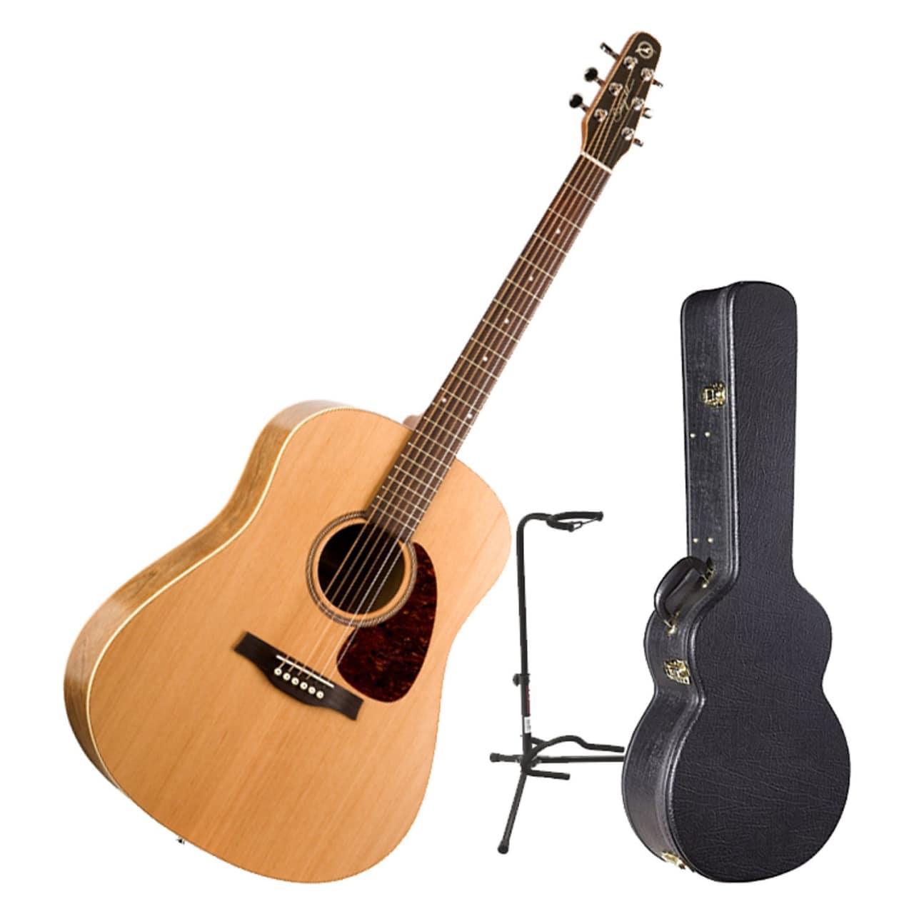 seagull s6 slim acoustic guitar bundle natural reverb. Black Bedroom Furniture Sets. Home Design Ideas