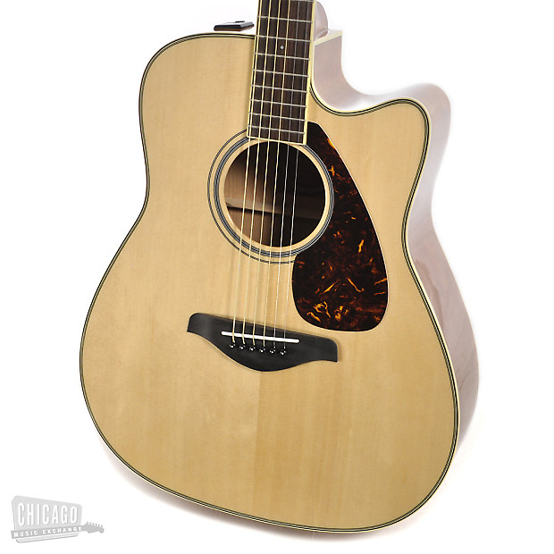 Yamaha fg series fgx720sca acoustic electric natural for Yamaha fgx720sca price