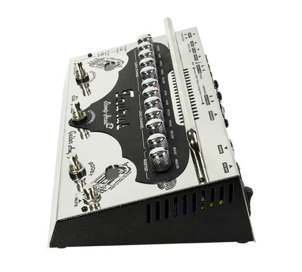 taurus stomp head 4 silver line 70watt ultra light analog reverb. Black Bedroom Furniture Sets. Home Design Ideas