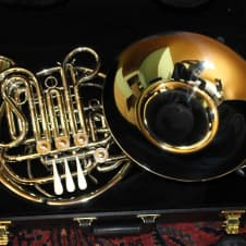 Holton H279 Professional Double French Horn MINT SCREW BELL NICKEL SILVER image