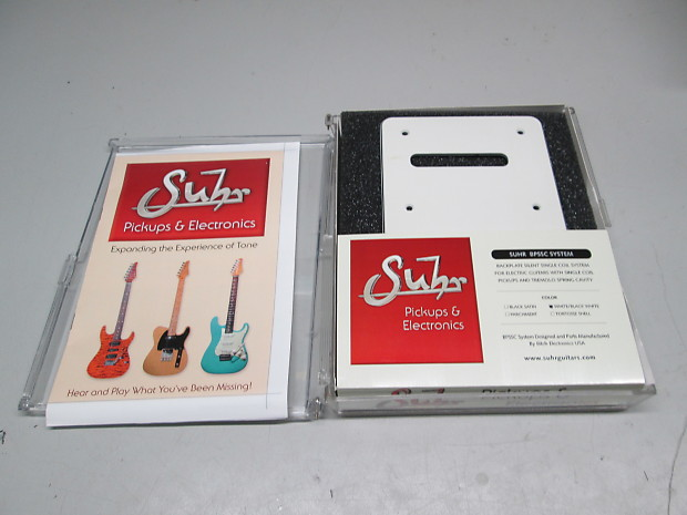 Suhr Backplate Silent Single Coil System Bpssc For Strat