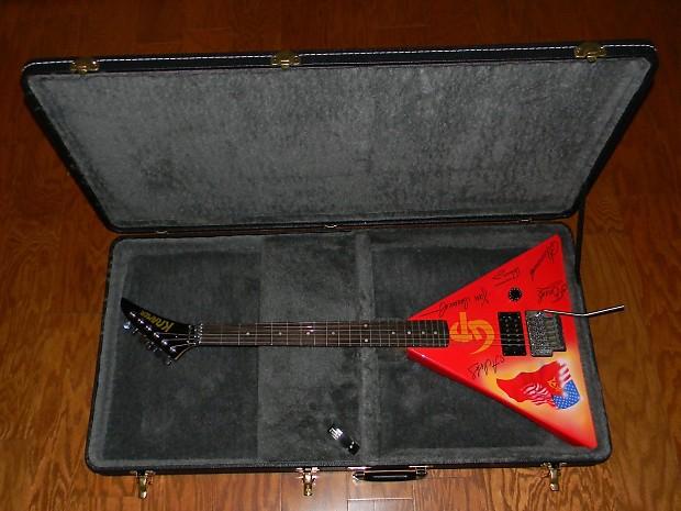 kramer vintage 1989 gorky park guitar w case mint body neck reverb. Black Bedroom Furniture Sets. Home Design Ideas