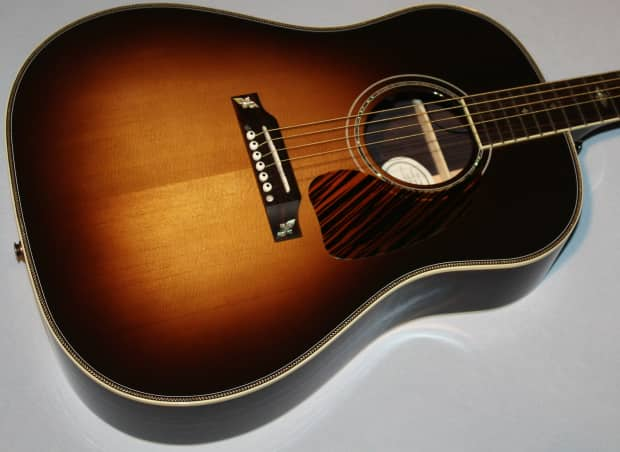 2015 gibson j45 custom acoustic electric guitar deep reverb. Black Bedroom Furniture Sets. Home Design Ideas