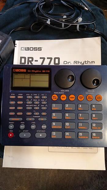 boss dr 770 dr rhythm drum machine reverb. Black Bedroom Furniture Sets. Home Design Ideas