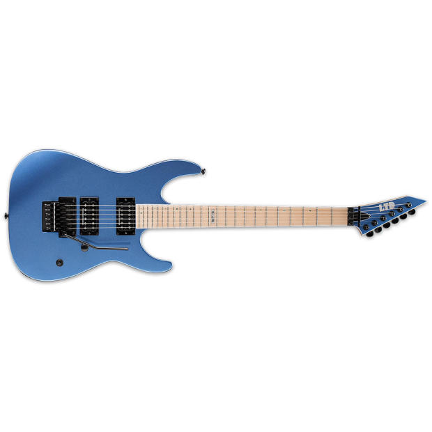 esp ltd m 400m blue chrome metallic new electric guitar free gig bag mblcm m400m 400 m m 400. Black Bedroom Furniture Sets. Home Design Ideas